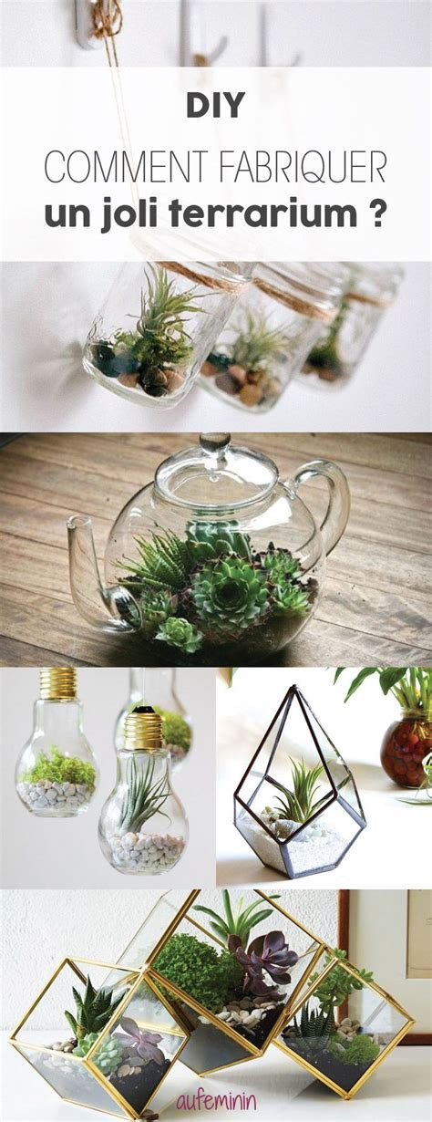 comment faire un terrarium terrarium comment faire un terrarium terrarium la folie et simple