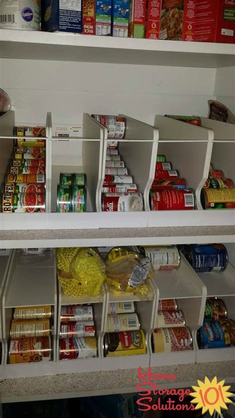 kitchen can storage rack can storage ideas solutions how to organize canned food 6498
