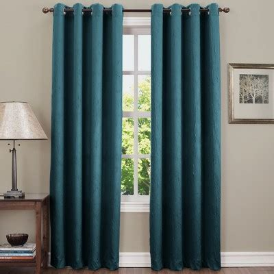 Target Drapery Panels by Gunther Crushed Room Darkening Grommet Curtain Panel Sun