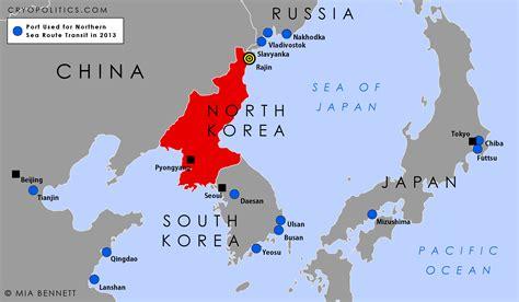 north korea   northern sea route cryopolitics