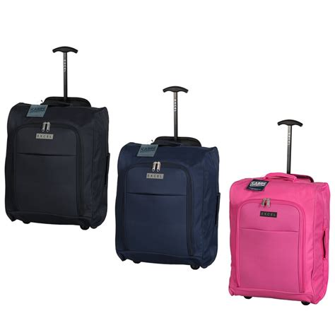 cabin bag trolley excel suitcase foldable cabin trolley bag luggage b m