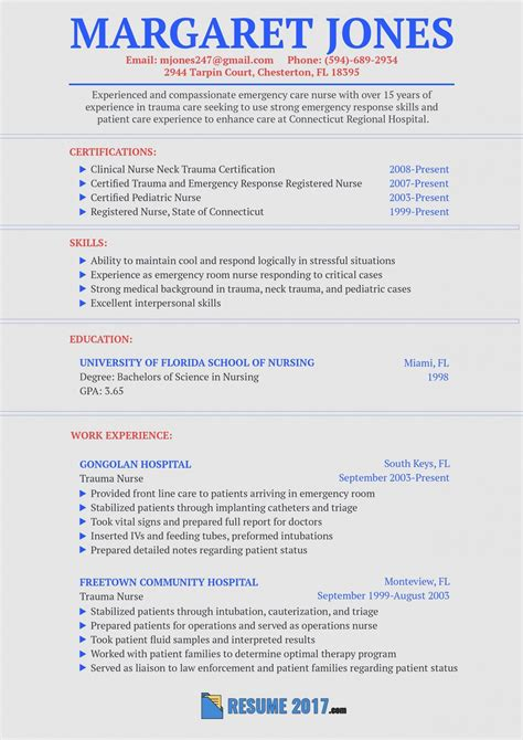 What makes this a great childcare provider resume example? Personal Statement Examples Nursing Graduate School ...