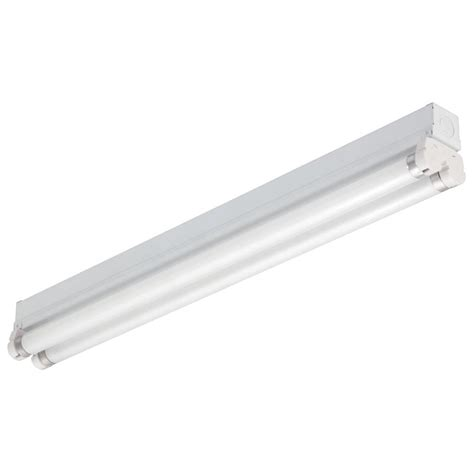 lithonia lighting 3 ft 2 light gloss white t8 fluorescent