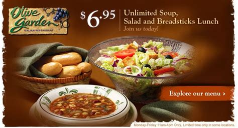 olive garden unlimited soup captain dan s unlimited soup salad breadsticks lunch
