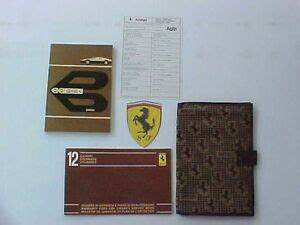 Find and save images from the djadja&dinaz collection by (hclkkk) on we heart it, your everyday app to get lost in what you love. Ferrari 512 Owners Manual_Pouch_Warranty Card Manual 512 BBi Fabric OEM | eBay