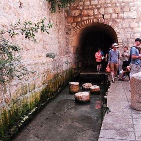 hezekiahs tunnel attractions  official website