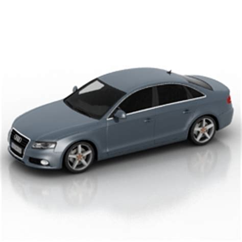 Land Transport 3D Models   Car audi a4 N181012   3D model