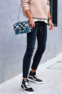 1000 idu00e9es sur le thu00e8me Tenue Aux Vans Noires sur Pinterest   Abercrombie Outfits Tenue De ...