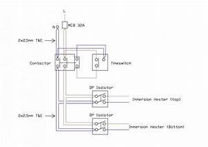 Strange Immersion Heater Wiring
