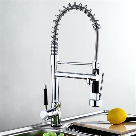 kitchen sink faucet with pull out spray aliexpress com buy factory shower kitchen basin