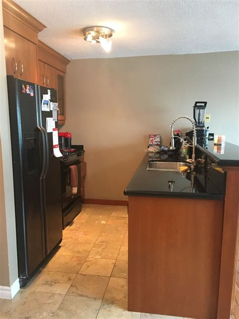 refrigerator kitchen cabinets cabinet refinishers cabinetry millwork in markham 1813