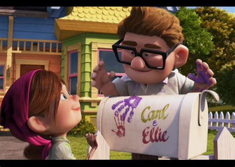What Does Decor Mean by From Movie Carl And Ellie Mailbox Love And Marriage