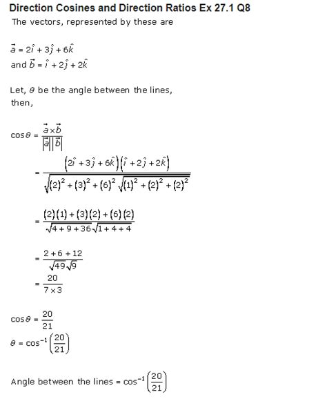 sharma class  solutions maths chapter  direction