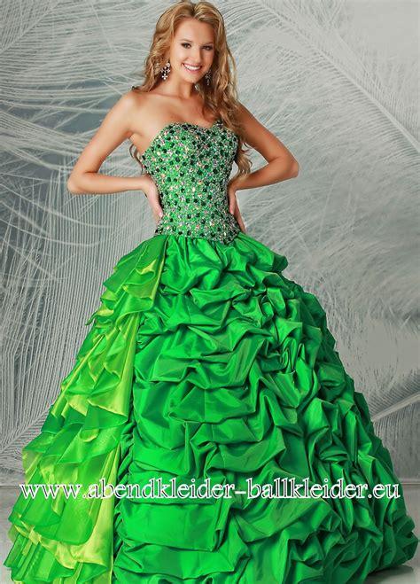 gruenes abendkleid ballkleid  dresses pinterest