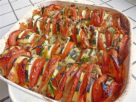 tian tomates courgettes au thym recettes light