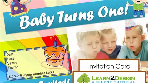 magicfingers birthday invitation card  microsoft