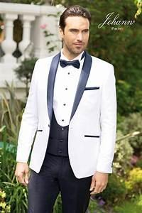 Costume Homme Mariage Blanc : costume mariage noir et blanc ~ Farleysfitness.com Idées de Décoration