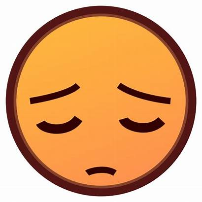 Emoji Pensive Face Seal Copy Emojis Emojidex