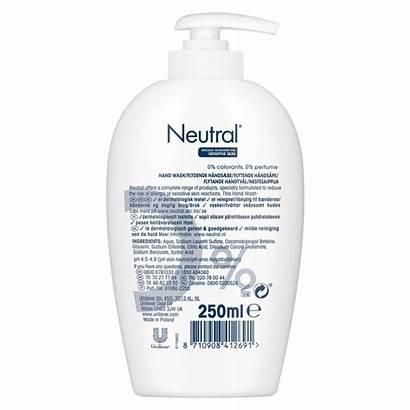 Neutral Ml Sensitive Wash Skin Handwash Etos