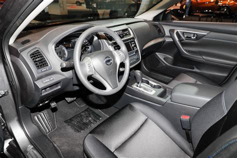 nissan altima interior nissan brings special midnight edition package to six