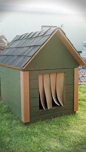 cozy insulated dog house to keep your best friend warm in With insulated dog houses for winter