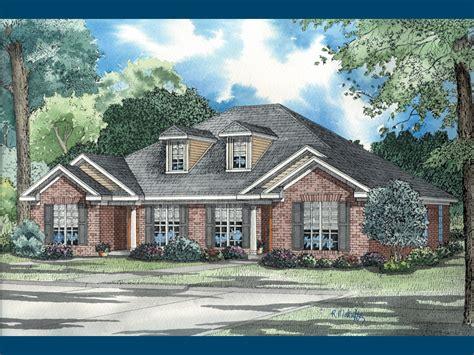 biddleford traditional duplex plan   house plans