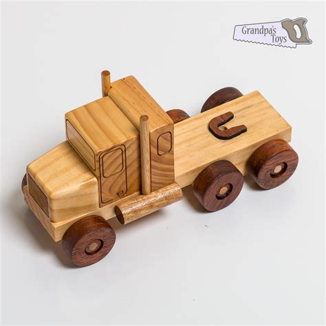 wooden toys wooden toy truck prime mover grandpa 39 s toys