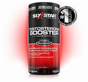 Testosterone Booster By Six Star Nutrition At Bodybuilding Com
