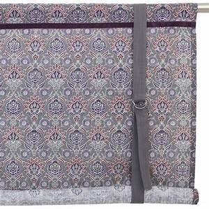 Kissen Auf Schwedisch : schwedische rollgardine pernilla grau lila 100 cm aus baumwolle bei min butik online kaufen ~ Eleganceandgraceweddings.com Haus und Dekorationen