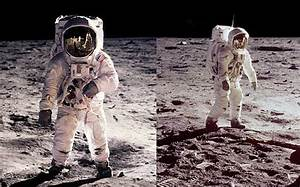 Astronaut Jumping On Moon - Pics about space