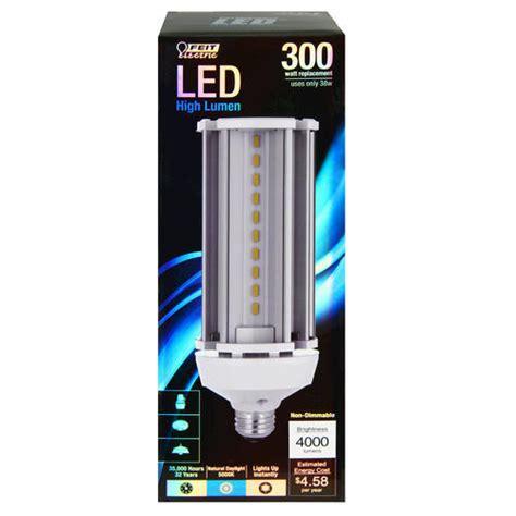 300 watt light bulb led replacement feit 38 watt led non dimmable light bulb for outdoor yard