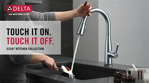 Delta Touch Faucet Not Working by Delta Essa Touch2o Technology Single Handle Pull