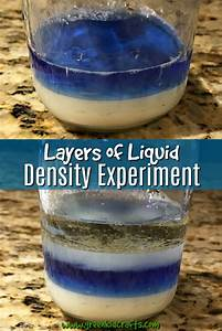 Layering Liquids Density Experiment for Kids - Green Kid ...