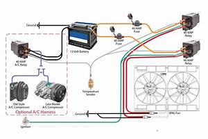 Wiring Safely Fan Relay Wiring With C U0026r Racing Wiring Diagram