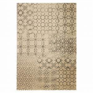 tapis moderne hamptons beige clair esprit home 80x150 With tapis beige clair
