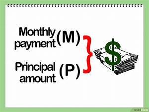 Darlehensbetrag Berechnen Formel : hypothekenraten berechnen wikihow ~ Themetempest.com Abrechnung