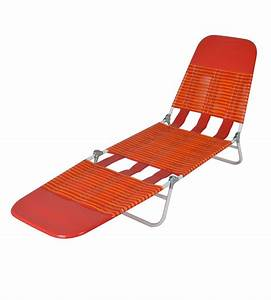 Mainstays, Folding, Jelly, Beach, Lounge, Chair, Orange, -, Walmart, Com