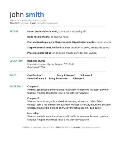 What Should Be On A Resume by Clean Resume Jobscan