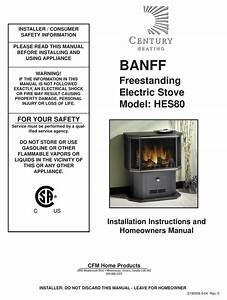 Century Heating Banff Hes80 Installation Instructions And