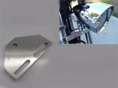 motorcycle bottom mount headlight bracket adapter
