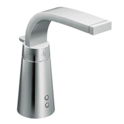 Moen Touchless Bathroom Faucet by Shop Moen Destiny Chrome Touchless Single Bathroom