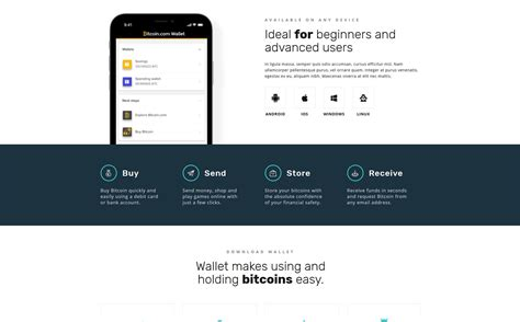 Our best web design will clearly represent the concept and boost your business to the next level. Bitcoin Multipage HTML5 Template | Website template, Html5 templates, Website template design