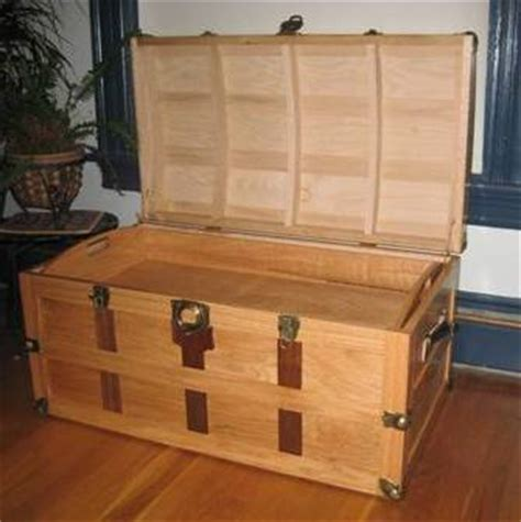 wooden trunk plans   build  amazing diy woodworking projects wood work