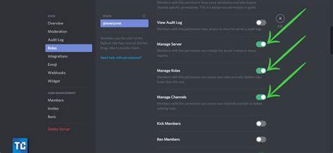 discord server create invite private roles link players