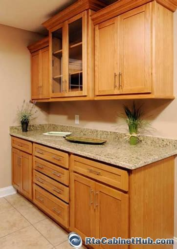 All Wood Cabinets Oak Shaker