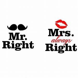Mrs Always Right : mr right mrs always right couple 39 s coffee mugs by arstills ~ Eleganceandgraceweddings.com Haus und Dekorationen
