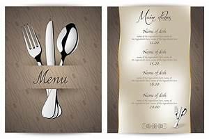 Modele De Menu A Imprimer Gratuit : menu restaurant comprendre et conseils imprimerie en ligne blog ~ Melissatoandfro.com Idées de Décoration