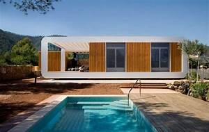 Maison Préfabriquée En Bois : maison contemporaine pr fabriqu e en bois paper toys ~ Premium-room.com Idées de Décoration