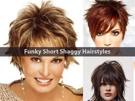 1000+ Ideas About Short Shaggy Hairstyles On Pinterest