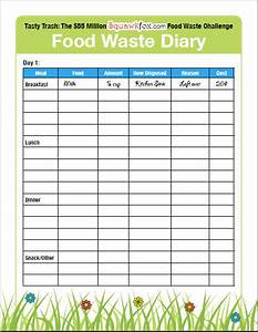 Weekly food diary clipart clipart suggest for Keeping a food diary template